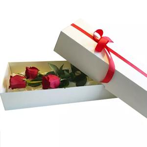 rosas en caja