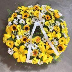 Corona Condolencia