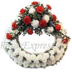 1547 Corona de Condolencias bicolor