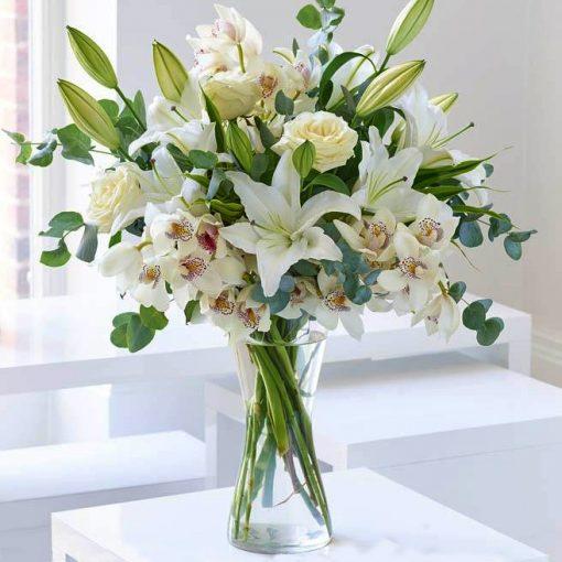 Flores de condolencias fúnebres para despacho a Regiones o Provincia